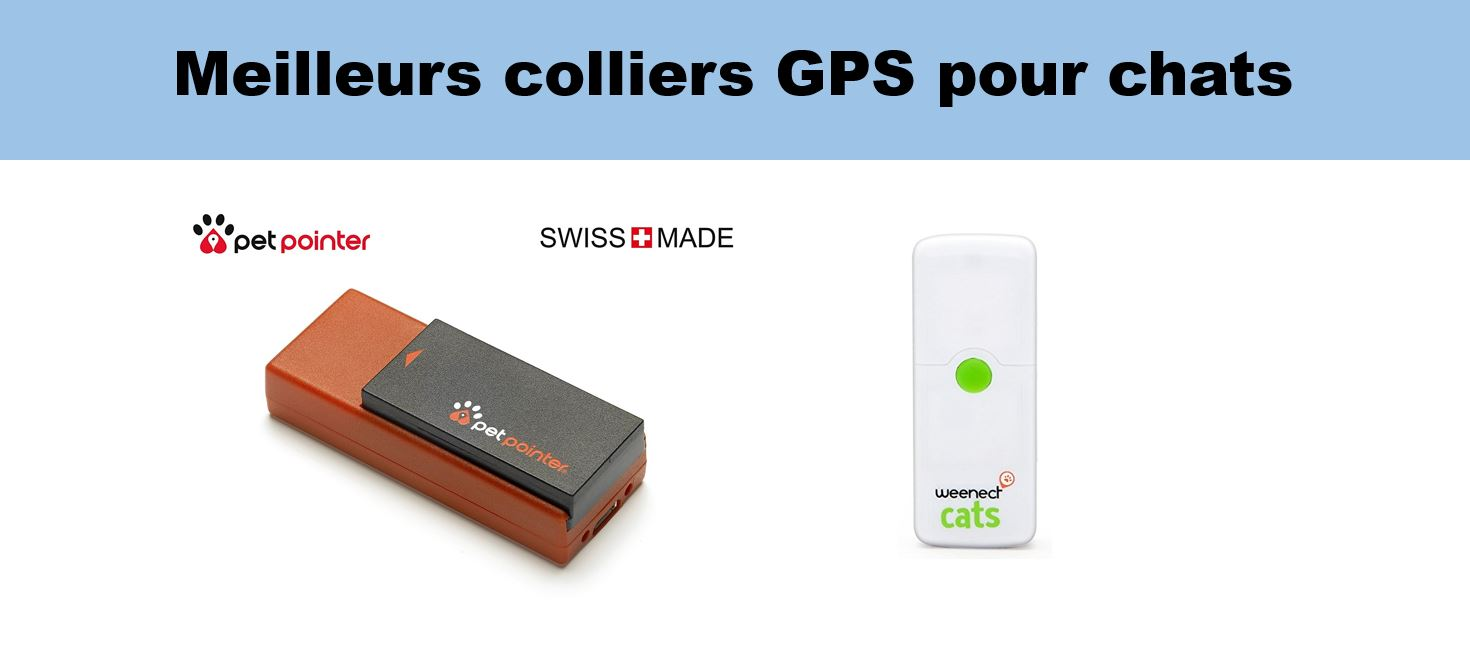 meilleurs colliers gps chats
