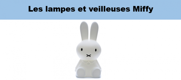 lampes lapin miffy