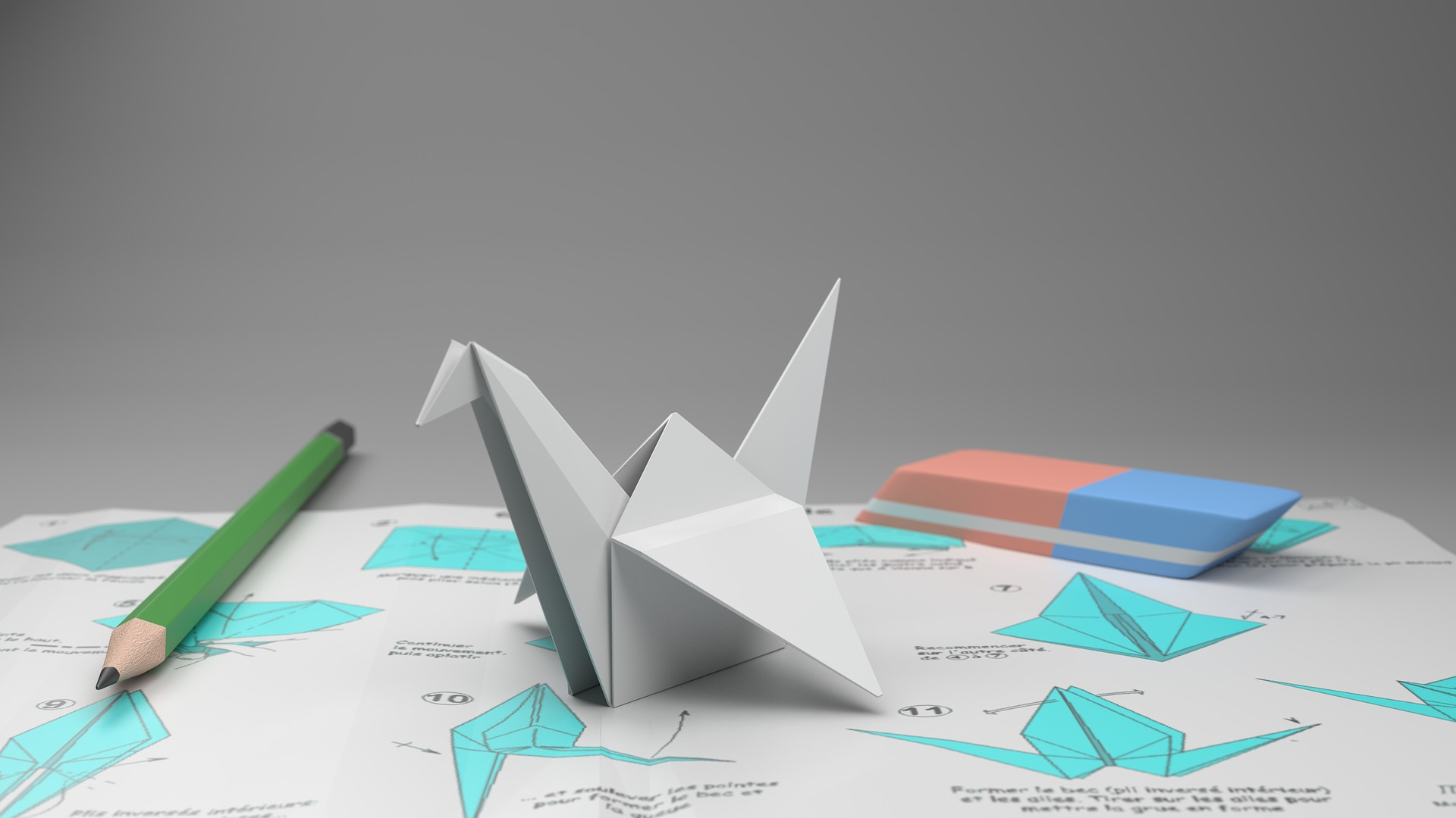 décoration origami