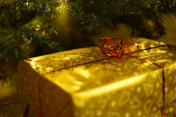 cadeau sous le sapin