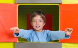 maisonnette plastique enfant