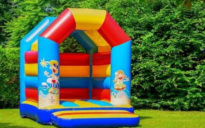chateau gonflable pour enfants