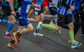 chaussette compression running