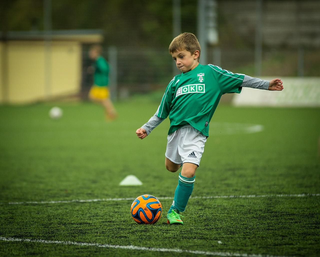 but de foot enfant