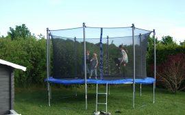 trampoline pour enfant