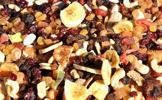 fruits sec avec un deshydrateur
