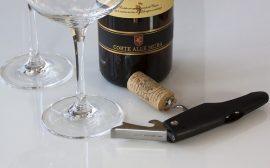 tire bouchon vin