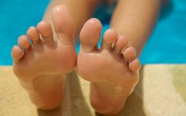 orteils pieds