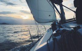 bateau en mer