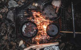 casserole camping