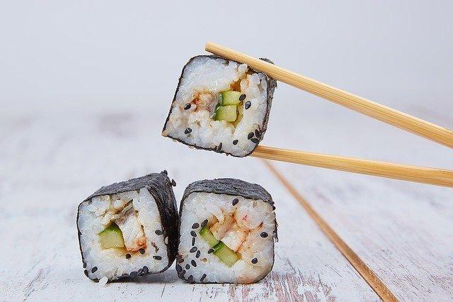 cadeau japonais baguettes