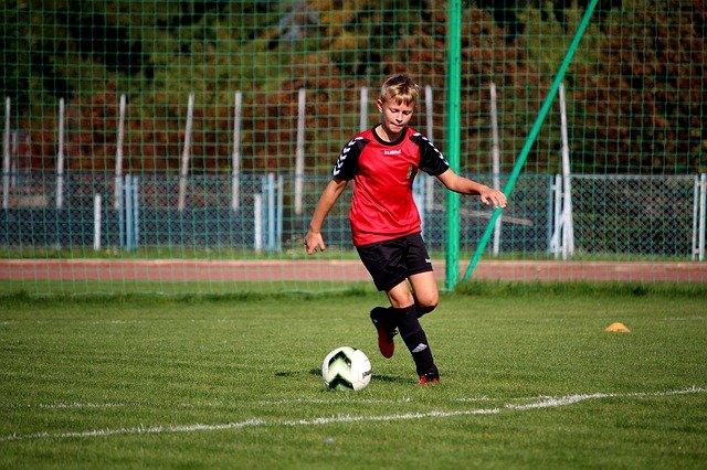 football garcon 9 ans